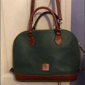Dooney & Bourke Pebble Dome Satchel